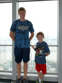 Jacob Thompson and brother in China