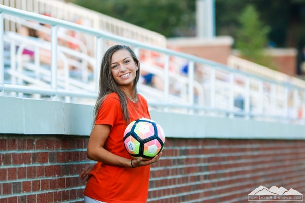 Brittany Thompson Clemson Ball Girl
