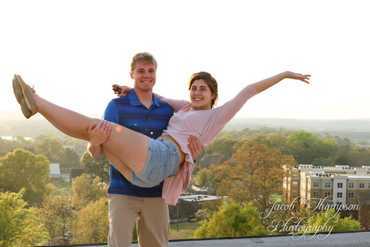 Jacob Thompson and Rachel Rosstedt