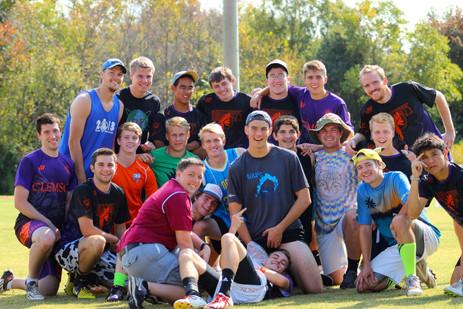 Jacob Thompson ultimate frisbee team