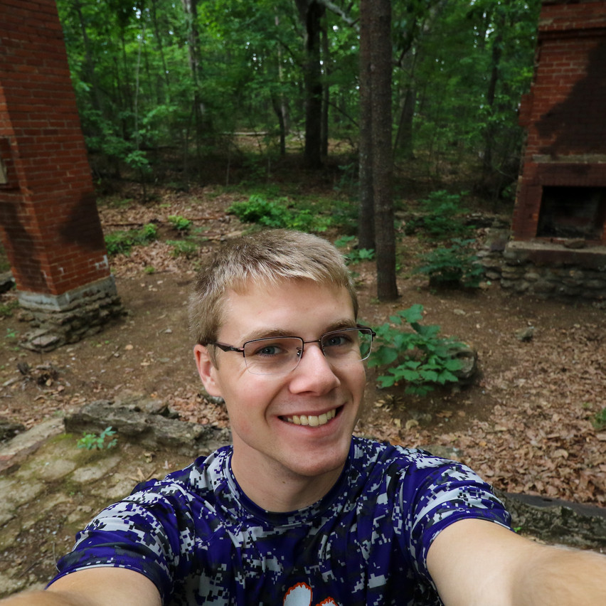 Selfie with the not-fire-tower