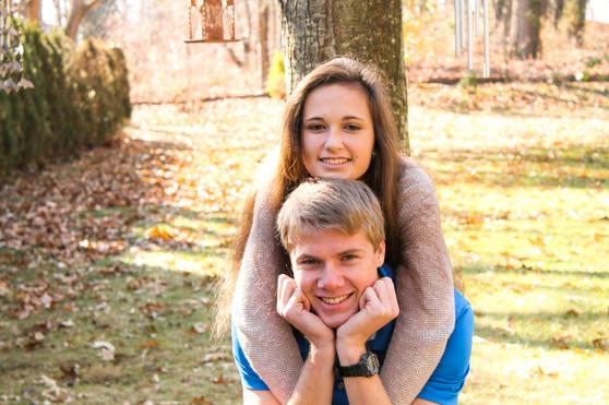 Jacob Thompson and Jessica Schucht