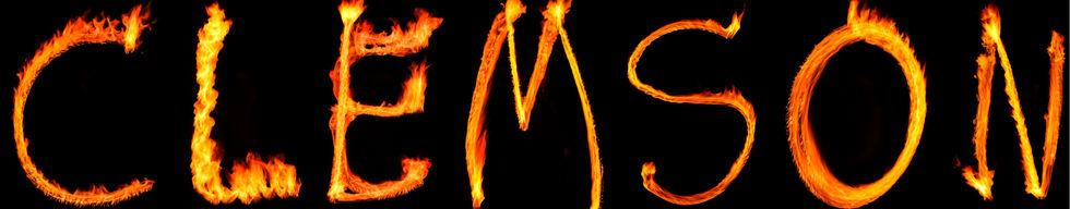Clemson fire letters