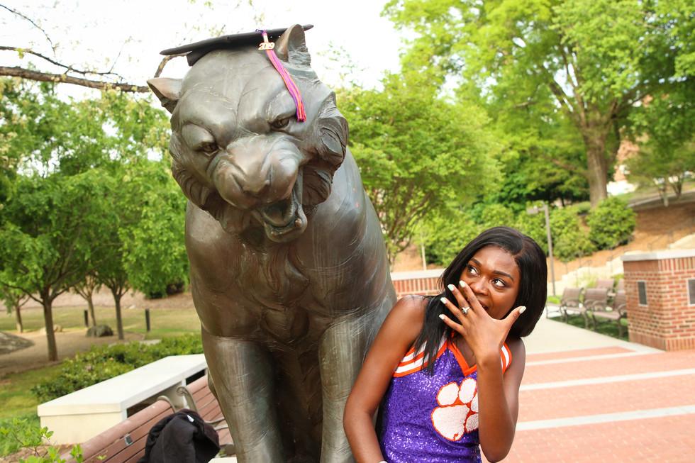 Demetria Clemson Graduation Senior (4).j
