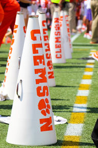 Clemson football cheerleaders