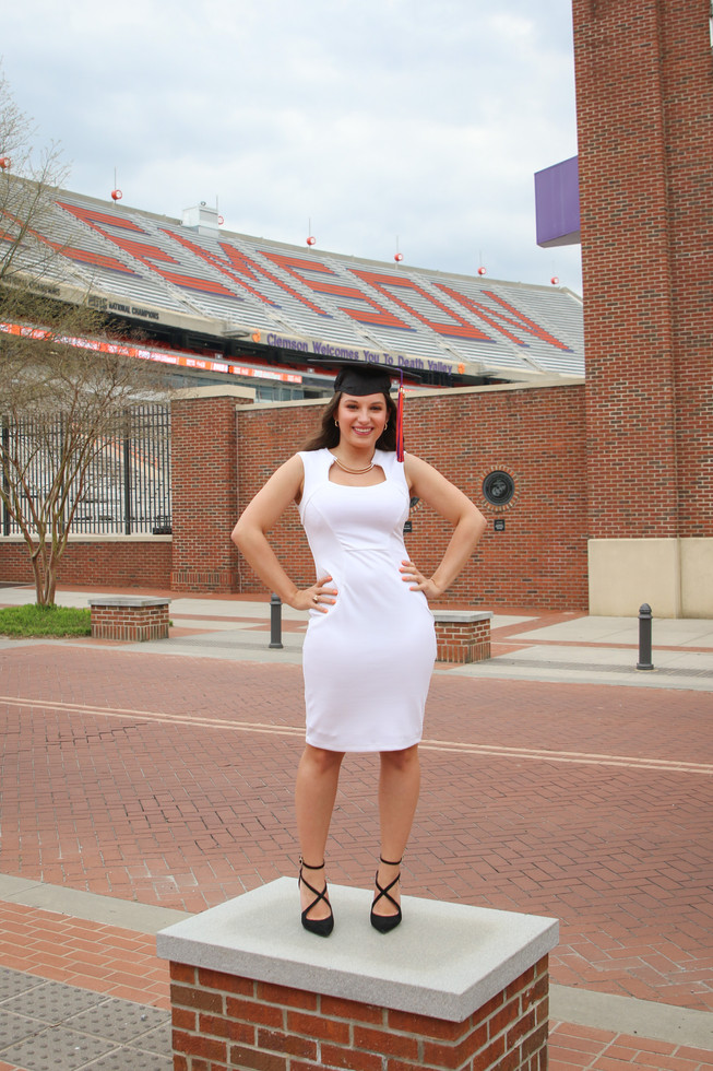 Mary Mell Clemson Senior Pictures