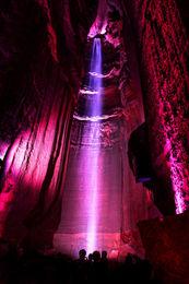 underground cave water led
