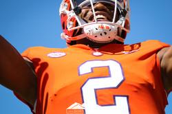 Clemson football smile