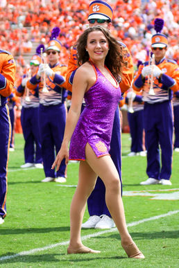 Clemson Tiger Dancers Cassidy Barringer