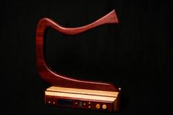 Arduino wooden laser harp