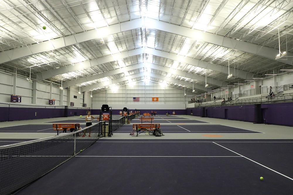 Clemson Indoor Tennis Facility 2019