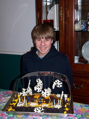 Jacob Thompson batman birthday cake