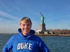 Jacob Thompson new york statue of liberty