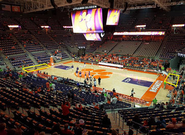 Shooting Clemson Basketball Games