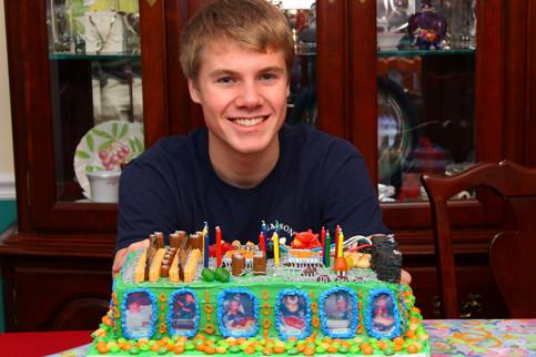 Jacob Thompson computer circuits birthday cake