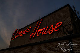 Clemson house sign
