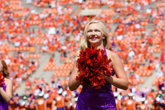 Clemson Tiger Dancers Greer