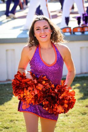 Clemson Tiger Dancers Cassidy Barringer