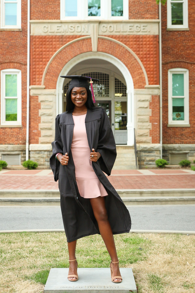 Demetria Clemson Graduation Senior (7).j