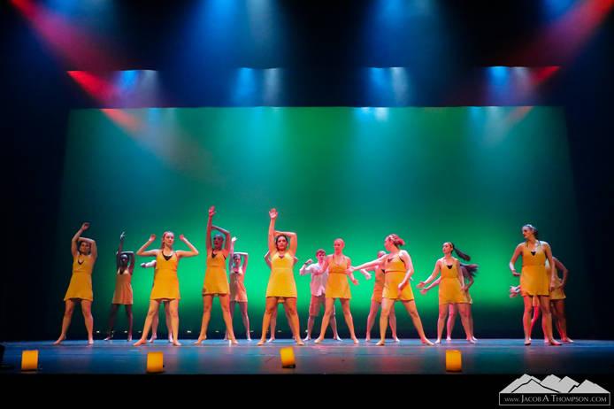 Clemson Dancers Club Showcase Dance Photography