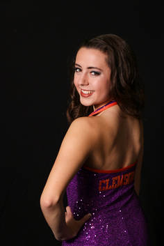 Clemson Dance Photography Cassidy Barringer Studio Flash