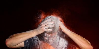 flour flash powder