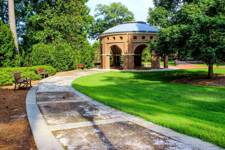 Clemson campus architecture