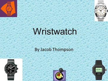 I predicted the modern smartwatch for a project in 8th grade and was ridiculed