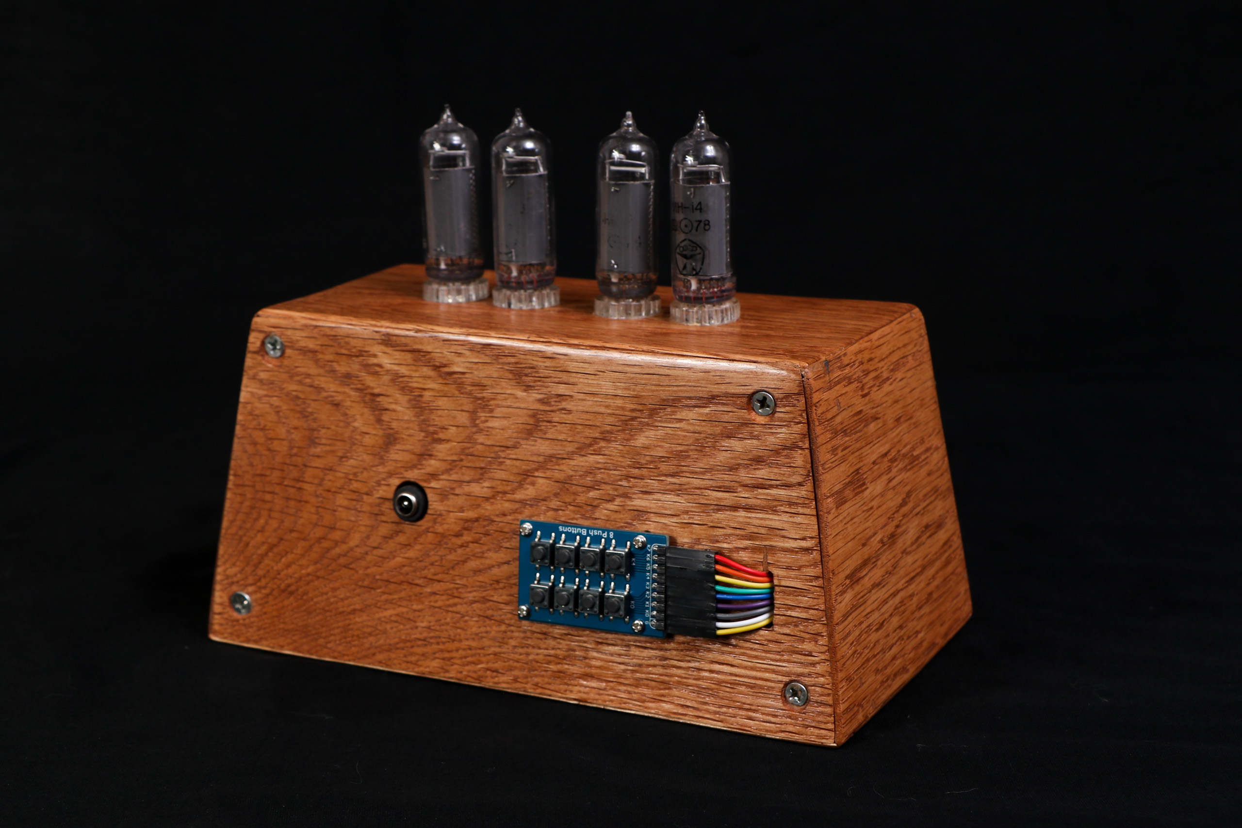 Nixie Tube Clock - a project by Jacob Thompson