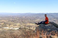 Jacob Thompson hike view
