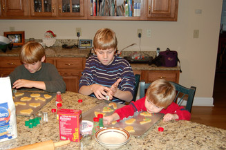 Jacob Thompson christmas cookies