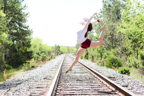 Clemson Dance Photography Cassidy Barringer
