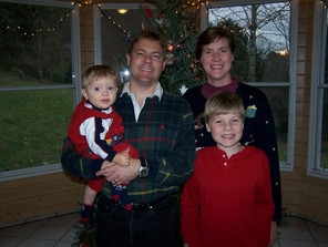 Jacob Thompson christmas family