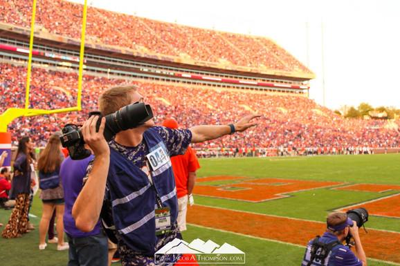 Jacob Thompson football game camera