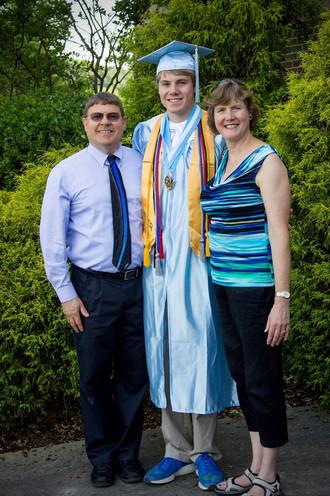 Jacob Thompson high school graduation parents