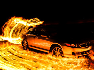 Fire photography tutorial is finished!