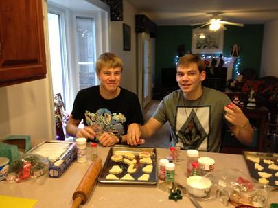 Jacob Thompson andy paulonis christmas cookies