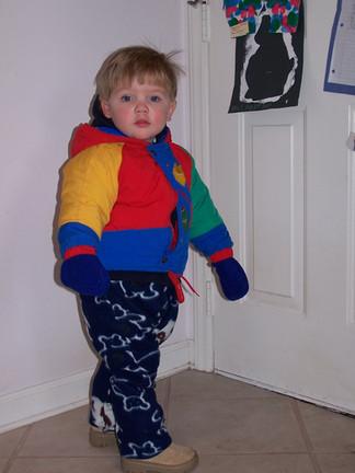 Poofy jacket Alex
