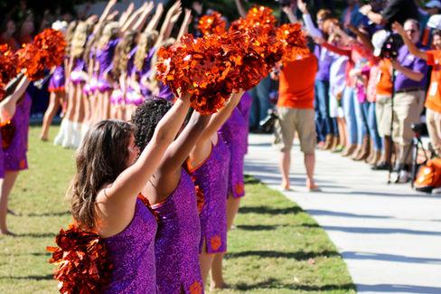 Clemson Tiger Dancers Girls