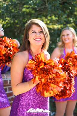Clemson Tiger Dancers Maegan Thompson