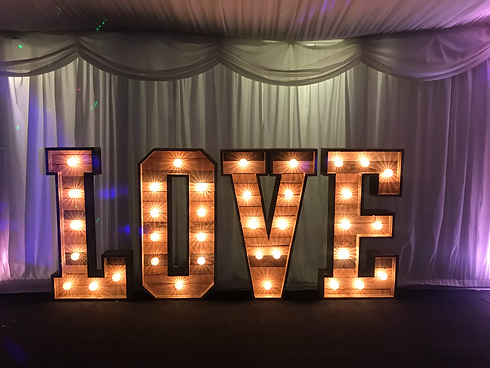 Rustic%20LOVE Letters Sign Cardiff South