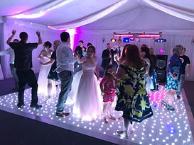 Starlit Dancefloor Hire Cardiff, Newport, South Wales