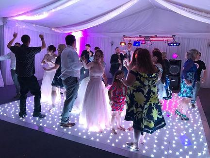 Starlit Dancefloor Hire Cardiff, Newport