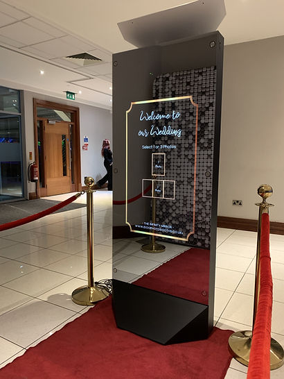 Infinity Magic Mirror Hire South Wales