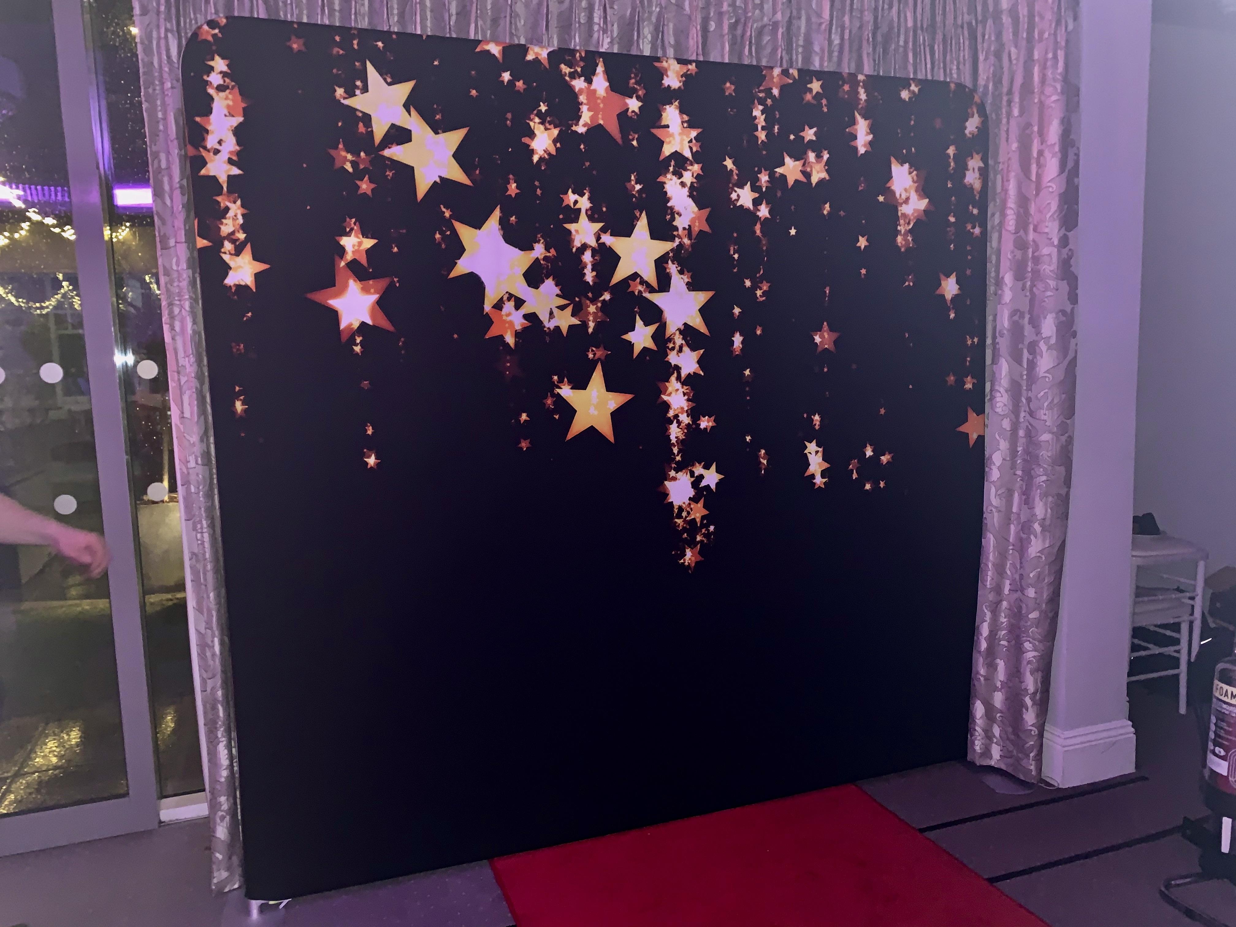 Black & Gold Stars