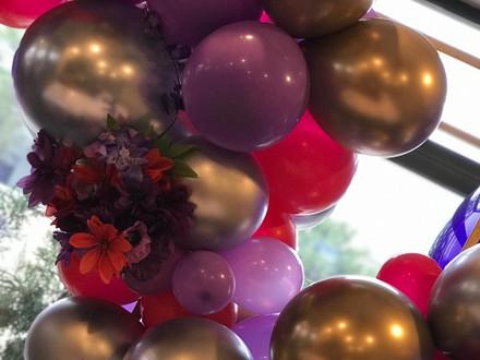 Balloon Backdrop for Elham