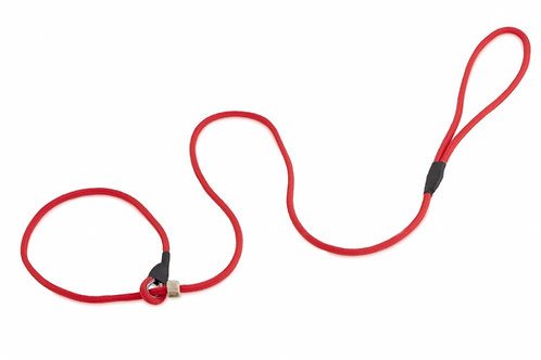 Firedog 6mm (Slim) Moxon Slip Lead : Short Length (variety of colours)