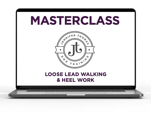 Loose Lead Walking and Heel Work - Masterclass Webinar