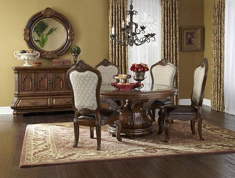 Michael Amini Tuscano Dining Room Set | furniturelandyuma