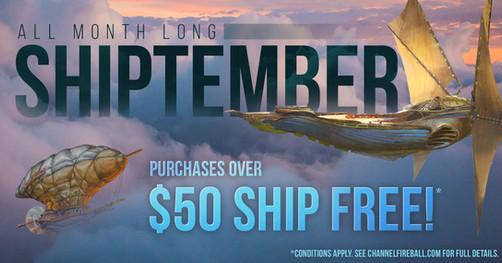 Shiptember Promotion